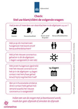 Controlegesprek Kon. Horeca Nederland